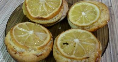 Миндальное печенье с лимоном