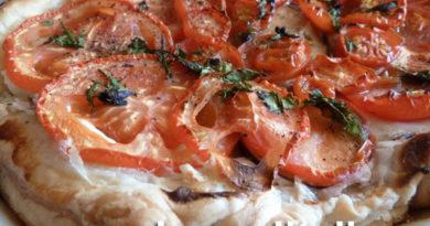пирог из томатов